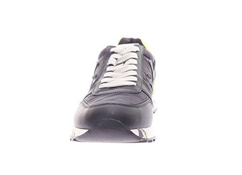 PREMIATA Uomo Sneaker Mick VAR 2825 Sneaker in Pelle e Tessuto Uomo Nero/Giallo La Venta En Línea Barata Últimas Colecciones A La Venta Ubicaciones De Los Centros Para La Venta Venta Para La Venta AWWQBhP