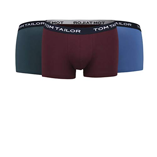 TOM TAILOR Herren Pants rot Melange 3er Pack