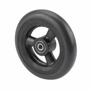 Alimed Composite Caster Wheel Assembly 6'' x 1'', Urethane, Dark Grey for ATM1816B Wheelchair