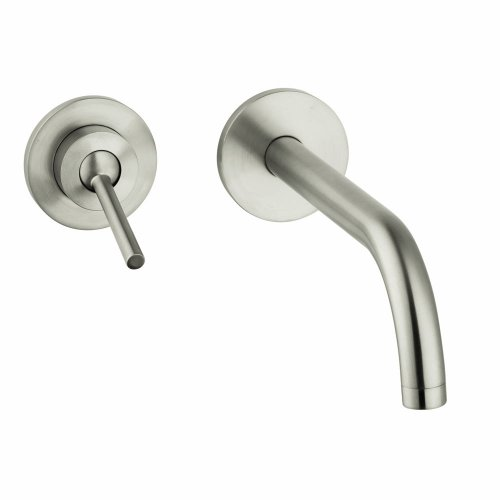 axor bathroom brushed nickel faucet bathroom brushed nickel axor faucet. Black Bedroom Furniture Sets. Home Design Ideas