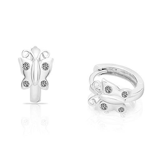 Baby Huggie Earrings - 5