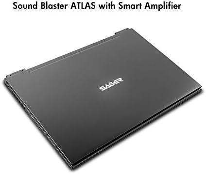 Sager NP8358F2 15.6-Inch FHD 144Hz, 72% NTSC Gaming Laptop, Intel i7-10875H, RTX 2070 Super 8GB, 16GB RAM, 1TB NVMe SSD, Windows 10 31vW6I6s6yL