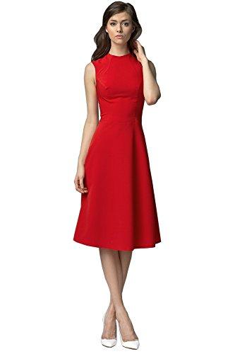 Mujer Nife Ajustado Nife S62 Rojo S62 I0qTwY