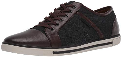 Kenneth Cole New York Men's Initial Step Sneaker, Black/Brown, 9.5 M US