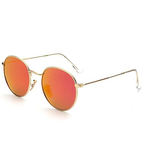 48mm de soleil NIFG colorées rétro dames polarisées de D Lunettes cadre soleil de de lunettes 141 de 134 rond H6rq8HT