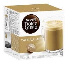 Nescafé Dolce Gusto Café au lait, Pack of 6, 6 x 16 Capsules by Nescafe