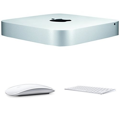 Apple Mac Mini MGEQ2LL/A 15-Inch Desktop (2.8GHz Dual-Core Intel Core i5, 8GB RAM, 1TB HDD, Mac OS X Yosemite), Silver