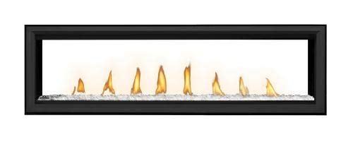 Vector LV62 Direct Vent See-Thru Gas Fireplace Package2 - NG