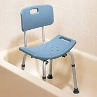 Lumex 7921R-1 Platinum Collection Bath Seat with Backrest, Standard Grey, Retail Packaging by Lumex   B00PV5M6HY