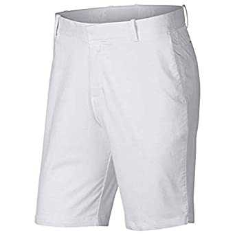 1af7810a1ccd2 Image Unavailable. Image not available for. Color  NIKE Flex Mens Slim Fit Golf  Shorts White ...