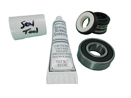 - 1 Front Bearing & Seal Pump Parts Kit Fits Most Aqua-Flo Spa Hot Tub Pumps