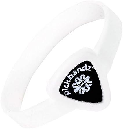 Pickbandz Adult Medium-Large Ghost White Bracelet