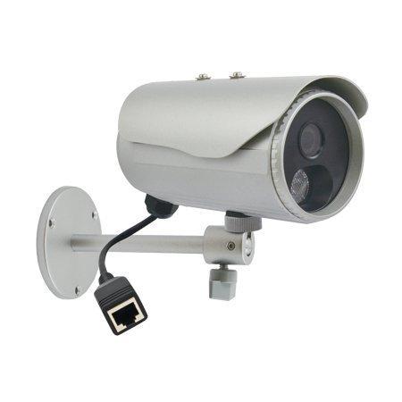 ACTi 3-Megapixel IR Bullet IP Camera: Day/Night, Infrared, 4.2mm, H.264, 1080P, DNR, PoE-only, IP66