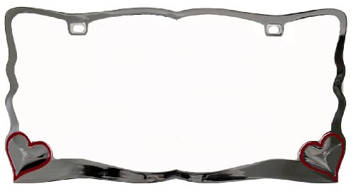 Custom Accessories 92761 Chrome License