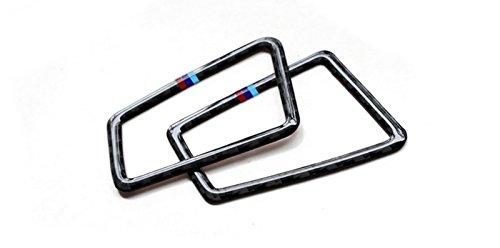 New Carbon Fiber Up Side Air Duct Covers 2PCS for BMW 3 Series E90 2005-2011 318i 320i 323i 325i 330i 335i