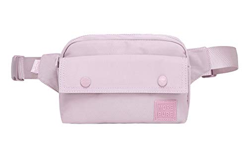 - MORE PURE 533s Cute Fanny Pack Classic Waist Bag, Thistle
