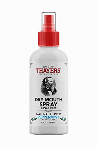 Thayers Peppermint Dry Mouth Spray, 4 ounce bottle