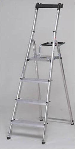 Hailo M99975 - Escalera aluminio master step 5 peldaños: Amazon.es: Bricolaje y herramientas