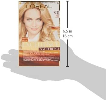 EXCELLENCE Age perfect tinte Rubio Dorado Nº 8.31 caja 1 ud