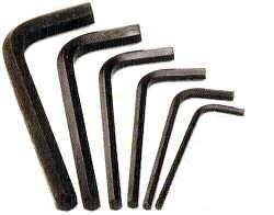 jumbo allen wrench hex key set 6pc sae hand tool sets. Black Bedroom Furniture Sets. Home Design Ideas