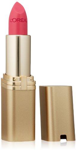 L'Oréal Paris Makeup Colour Riche Original Creamy, Hydrating Satin Lipstick, 180 Pink Flamingo, 0.13 oz.