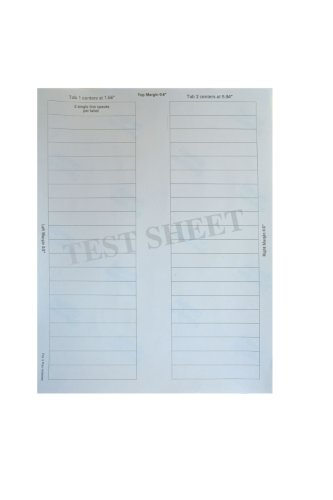 Kleerfax Custom Indexing System Label
