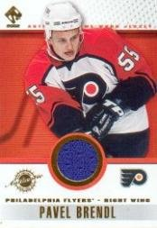 2001-02 Private Stock Game Gear #70 Pavel Brendl Jsy