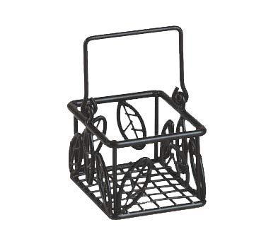 (American Metalcraft SBL353 American Metalcraft SBL353 Sugar Packet Baskets, Leaf, Wrought Iron, 5