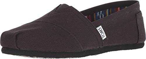 TOMS Womens Classics Navy Canvas 001001B07-NVY Womens -