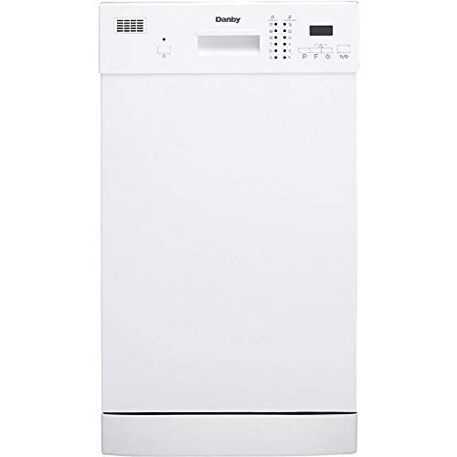 Danby Energy Star 18-in. Built-in Dishwasher in White