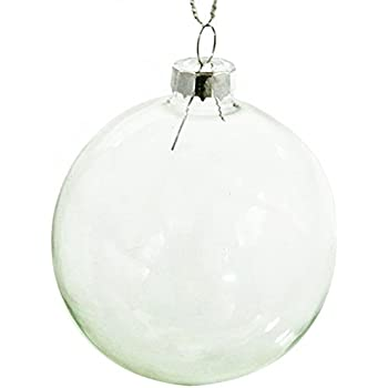 christmas ornaments ball clear glass balls perfect use for family drawing room wedding and party 315 - Glass Christmas Balls