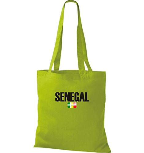 Kiwi Senegal Fútbol Yute Shirtstown Bolsa Tela Países Land De 1Ix8xd0w