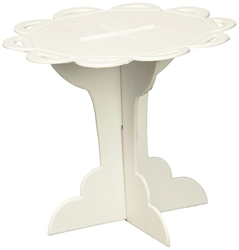 Outside the Box Papers Individual Paper Cupcake Stands 12 Pack White