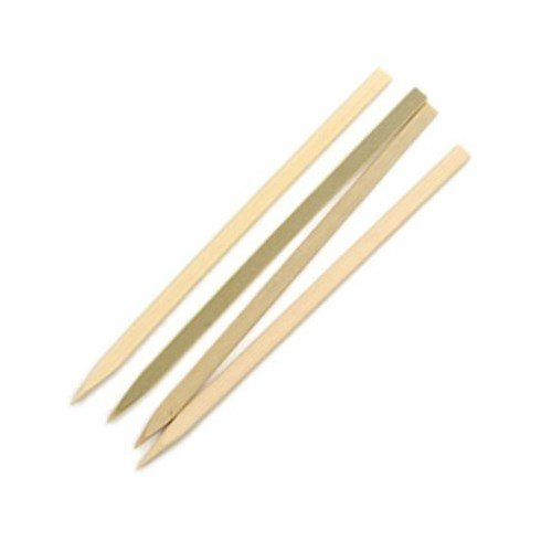 RSVP International, Skewers 6in Flat Bamboo, 1 Count
