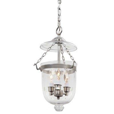 Small Bell Jar Pendant Lights - 6
