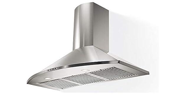 CAMPANA TENDER PLUS 60 INOX LED0: Amazon.es: Grandes electrodomésticos