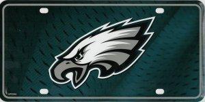 NFL Philadelphia Eagles Metal License Plate