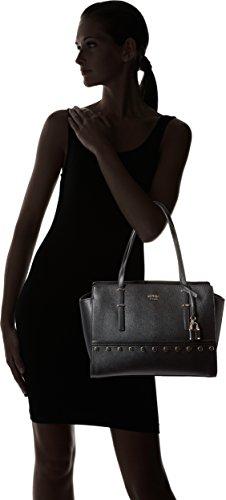 Guess Britta damen, handtasche, schwarz