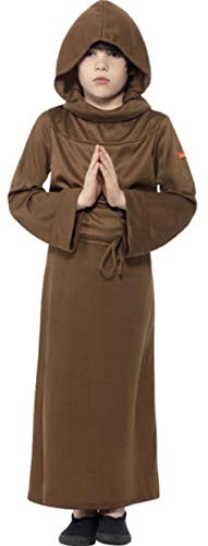Boys Horrible Histories Monk Religious Friar Tuck Historical Fancy Dress Costume Outfit (7-9 Years) ()
