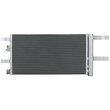 A-C Condenser - Pacific Best Inc Fit/For 30062 17-18 Ford Fusion 2.7L-Turbo With Receiver & Dryer