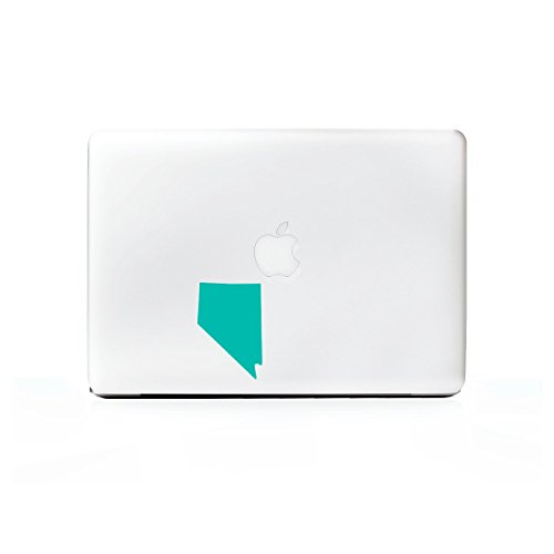 (2x) StickAny Laptop Series Nevada NV Sticker for Macbook Pro, Chromebook, Surface Pro, and More (Turquoise)