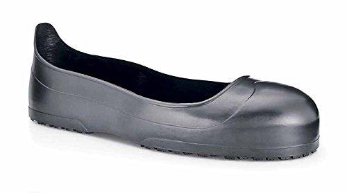 Zapatos para Crews 53-M estilo punta de acero Crew guardias de seguridad, talla, 53m, tamaño mediano, color negro