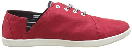 TBS Technisynthese Teodora R7, Zapatos de Cordones Derby para Mujer rojo (Rubis)