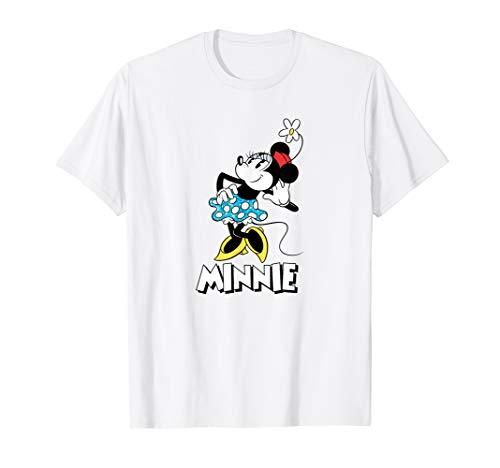 Disney Minnie Mouse Flower T-shirt