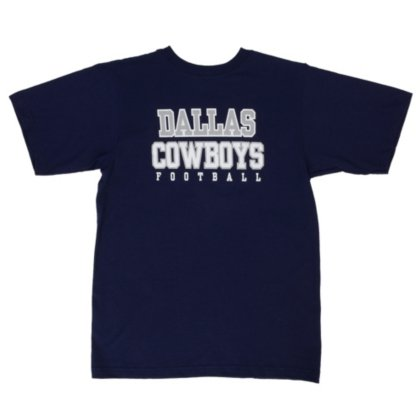 Reebok Dallas Cowboys Youth Sideline Practice T-Shirt Medium -