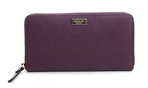 Kate Spade New York Women's Neda Laurel Way Accordion Wallet No Size (Deep Plum)