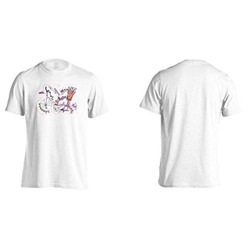 Neuer Lustiger Verrückter Glücklicher Kunstentwurf Herren T-Shirt i552m