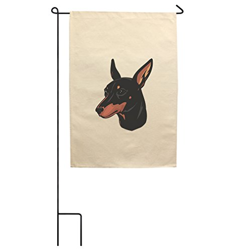 "Style in Print Canvas Yard Garden Flag 18""X27"" Toy Mancheste"