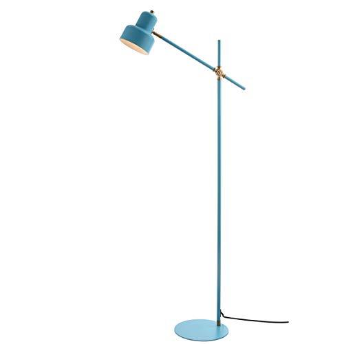 Safavieh FLL4038A Lighting Collection Jaden Floor Lamp, Blue