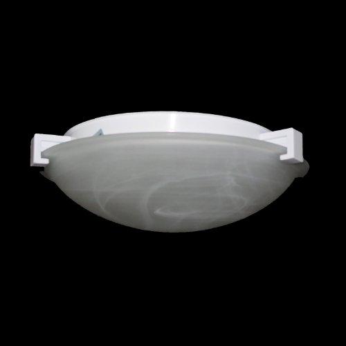 PLC Lighting 7012 BK 1 Light Ceiling Light Nuova Collection